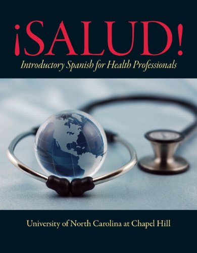 �Salud! Introductory Spanish for Health Professionals  2012 (Revised) edition cover