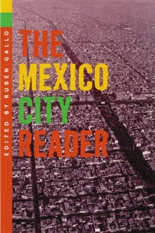 Mexico City Reader   2004 edition cover