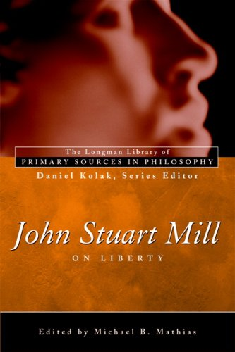 John Stuart Mill On Liberty  2007 edition cover