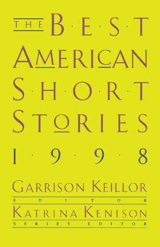 Best American Short Stories 1998   1998 edition cover