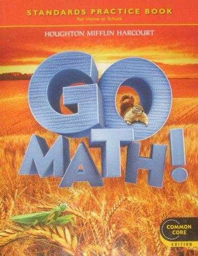 Houghton Mifflin Harcourt Go Math!  N/A 9780547588148 Front Cover