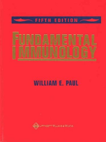 Fundamental Immunology  5th 2003 (Revised) 9780781735148 Front Cover
