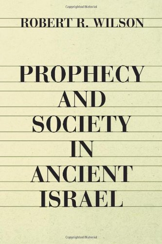 Prophecy and Society in Ancient Israel N/A edition cover