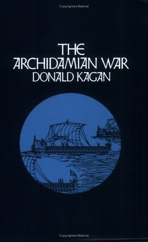 Archidamian War  N/A 9780801497148 Front Cover