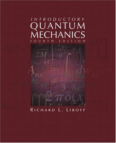 Introductory Quantum Mechanics  4th 2003 (Revised) edition cover