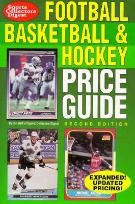 Football, Basketball and Hockey Price Guide 2nd 9780873412148 Front Cover