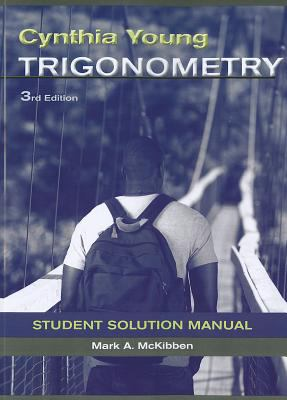 Trigonometry  3rd 2012 edition cover