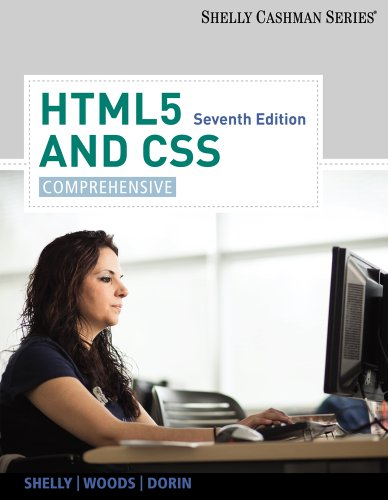 HTML5 and CSS Comprehensive 7th 2013 edition cover
