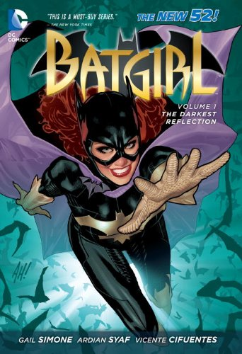 Batgirl - The Darkest Reflection   2012 9781401238148 Front Cover