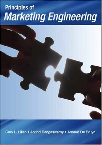 Principles of Marketing Engineering: 1st 2007 edition cover