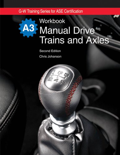 Manual Drive Trains and Axles Workbook:  2nd 2009 edition cover