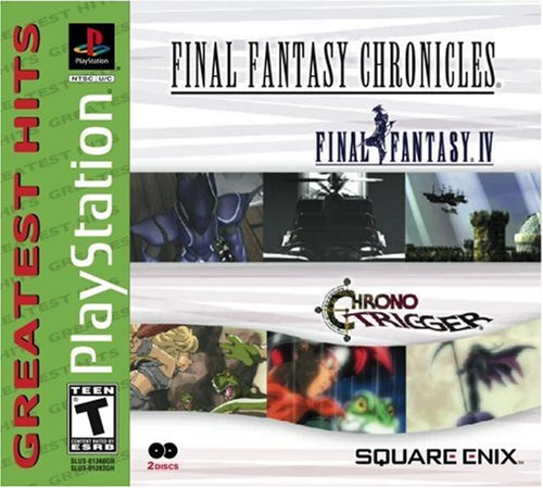 Final Fantasy Chronicles: Chrono Trigger/Final Fantasy IV PlayStation artwork