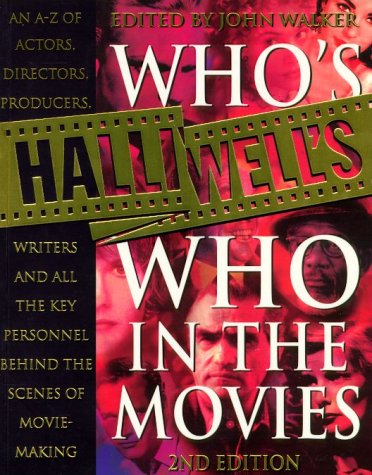 Halliwell's Who's Who in the Movies N/A edition cover