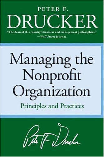 Managing the Nonprofit Organization  N/A edition cover
