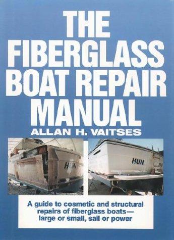 Fiberglass Boat Repair Manual   1989 edition cover