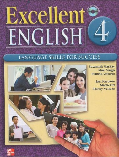 Excellent English - Level 4 Language Skills for Success  2009 (Student Manual, Study Guide, etc.) 9780078052149 Front Cover