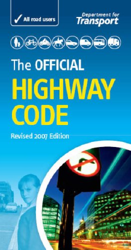 Official Highway Code  2007 9780115528149 Front Cover