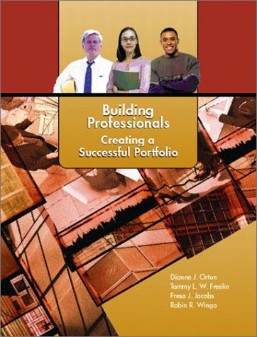 Building Professionals Creating a Successful Portfolio  2003 edition cover