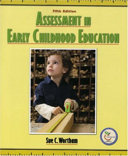 Assessment in Early Childhood Education  5th 2008 edition cover