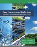 Basic Environmental Technology Water Supply, Waste Management and Pollution Control 6th 2015 edition cover