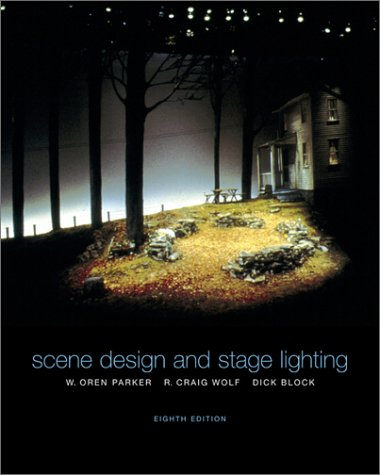 Scene Design and Stage Lighting  8th 2003 (Revised) edition cover