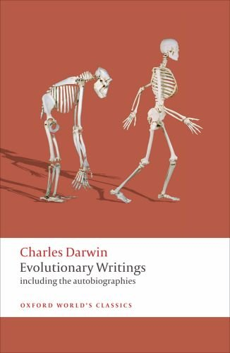 Evolutionary Writings Including the Autobiographies  2010 edition cover