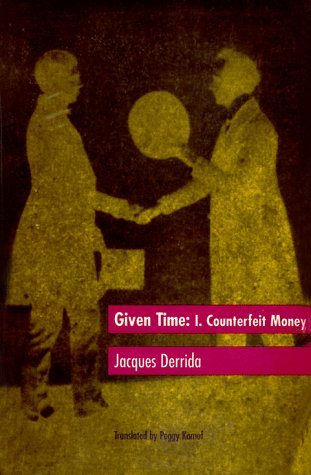 Given Time Counterfeit Money  1992 edition cover