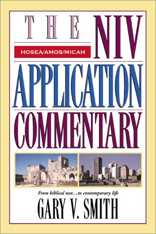Hosea/Amos/Micah   2001 edition cover
