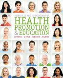 Principles and Foundations of Health Promotion and Education  6th 2015 edition cover