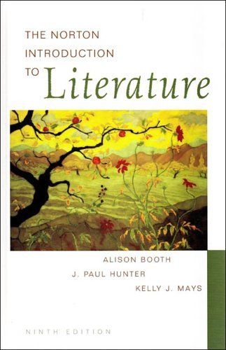 Norton Introduction to Literature  9th 2005 edition cover