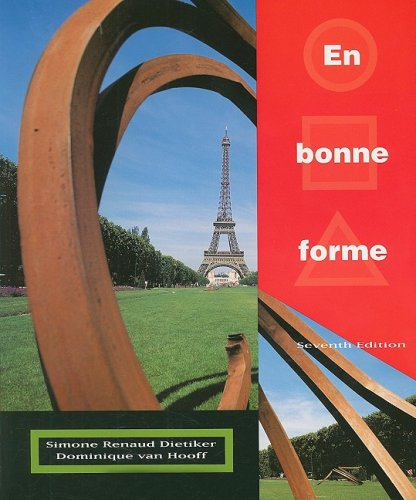 En Bonne Forme:  7th 2000 9780470427149 Front Cover