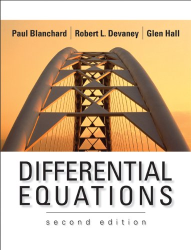 Differential Equations  2nd 2002 edition cover