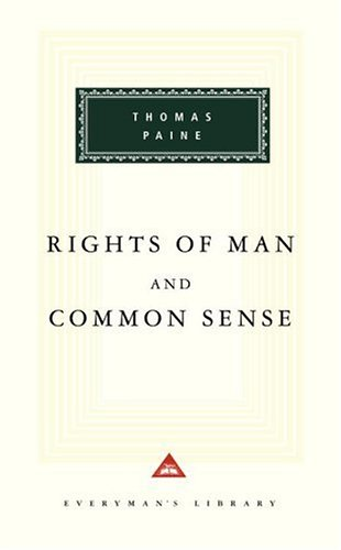 Rights of Man and Common Sense  N/A edition cover