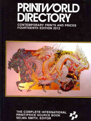 Printworld Directory of Contemporary Prints and Prices 2013  14th 2012 edition cover