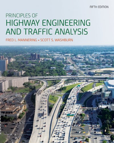 Principles of Highway Engineering and Traffic Analysis  5th 2013 edition cover