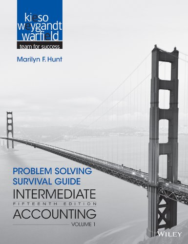 Intermediate Accounting Problem Solving Survival Guide 15th 2013 edition cover