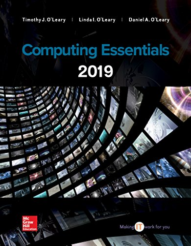 COMPUTING ESSENTIALS 2018 (LOOSELEAF)   N/A 9781260210149 Front Cover