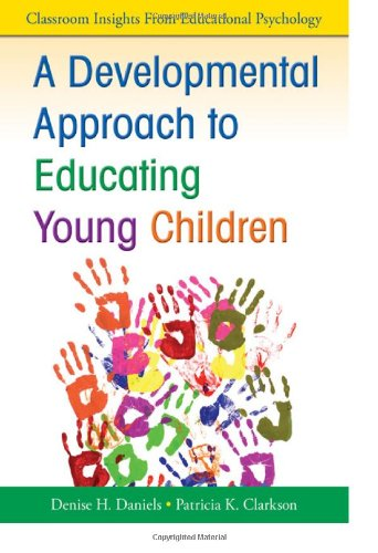 Developmental Approach to Educating Young Children   2010 edition cover