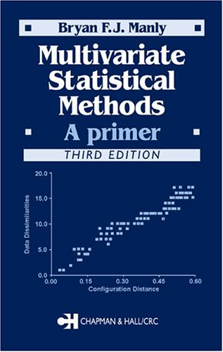 Multivariate Statistical Methods  3rd 2004 (Revised) edition cover