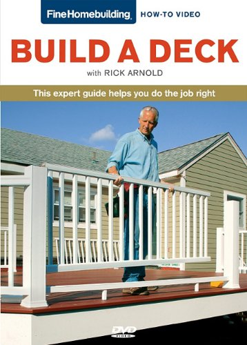 Build a Deck   2011 9781600854149 Front Cover