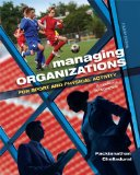 Managing Organizations for Sport and Physical Activity A Systems Perspective 4th 2014 (Revised) edition cover