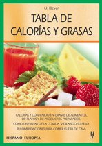 Tabla De Calorias Y Grasas:  2004 edition cover