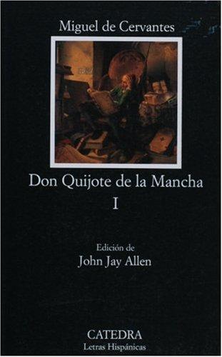 Don Quijote de la Mancha I:  2005 edition cover