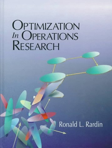 Optimization in Operations Research   1998 edition cover