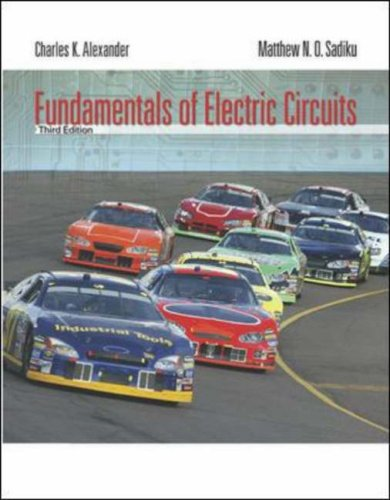 Fundamentals of Electric Circuits  3rd 2007 (Revised) edition cover