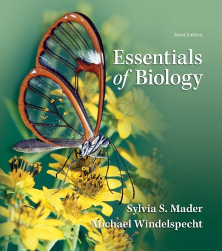 Lab Manual for Essentials of Biology  3rd 2012 edition cover
