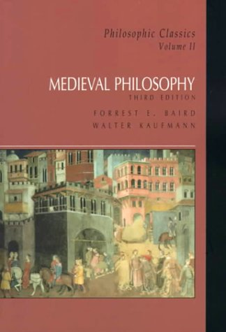 Philosophic Classics  3rd 2000 9780130213150 Front Cover