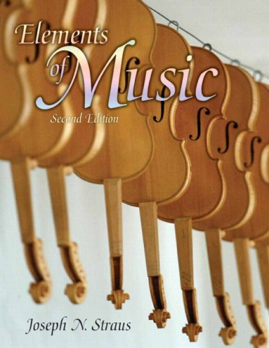 Elements of Music  2nd 2008 9780131584150 Front Cover