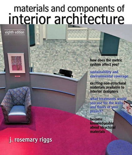 Materials and Components of Interior Architecture  8th 2014 edition cover