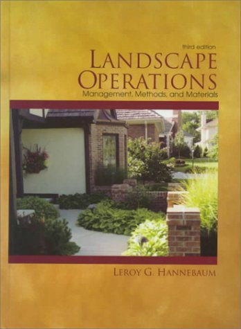 Landscape Operations Management, Methods, and Materials 3rd 1999 edition cover